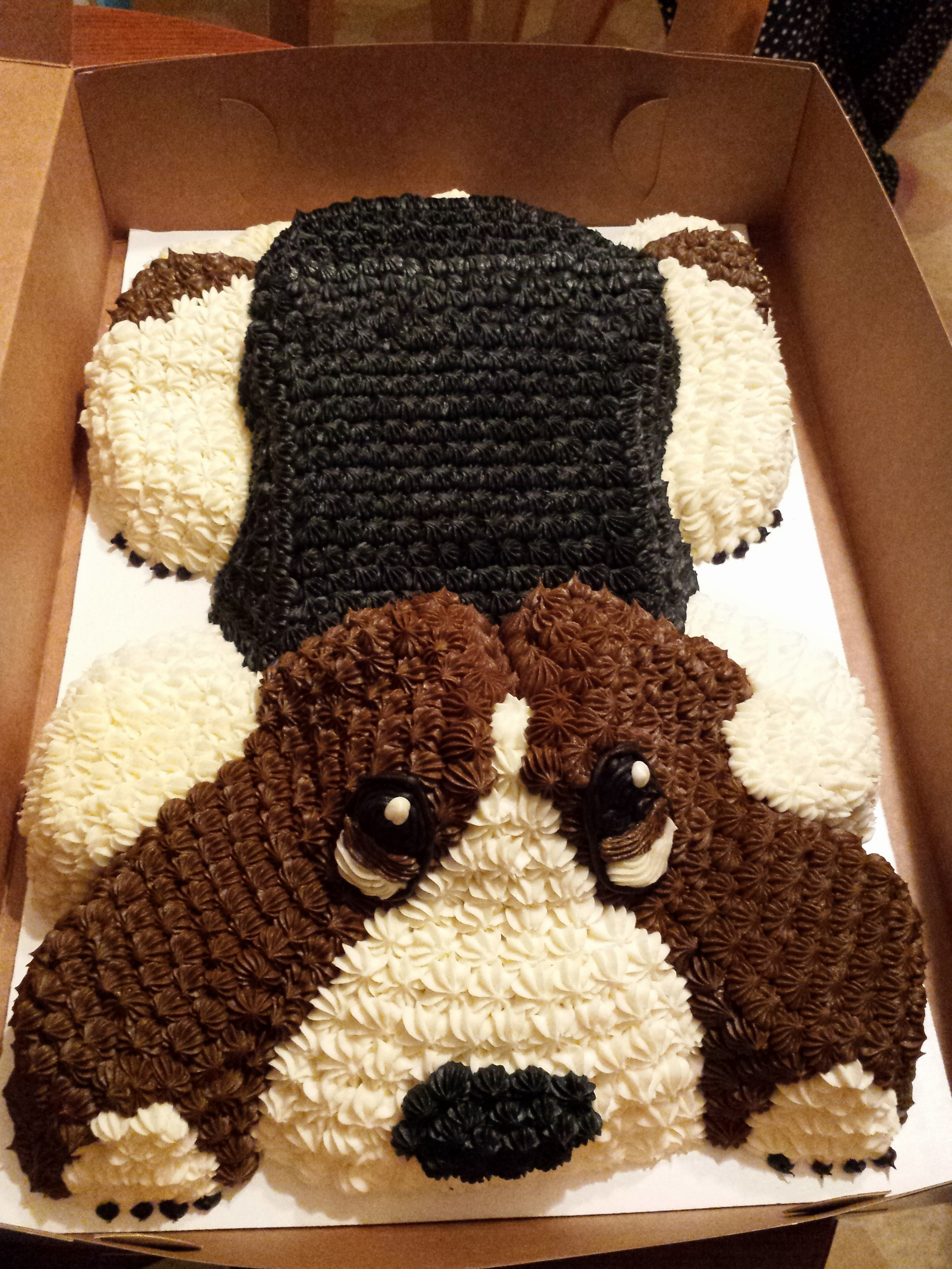 Is this the best basset hound birthday cake ever? - Basset ...