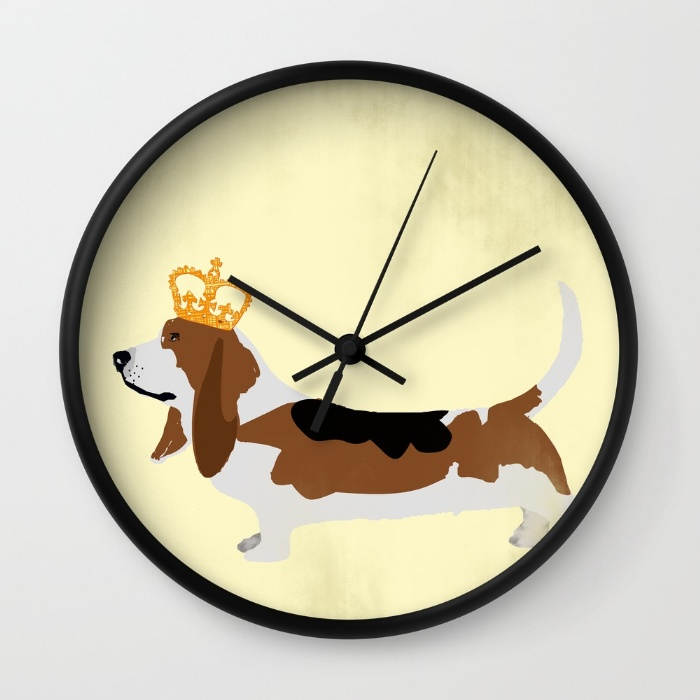 It is Basset O'clock